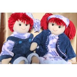 Grandes poupées de chiffon