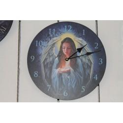 Horloge ange.