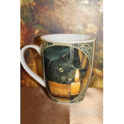 "Mug ""chat noir"" Lisa Parker."