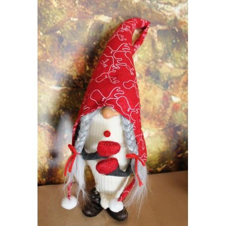gnome fille en sabot.